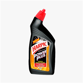 Desinf. harpic power plus preto 500ml